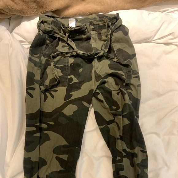 Fitted Army Cargo Pants